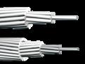 Голый провод марка А  (алюминиевый) и АС (сталеалюминиевый)